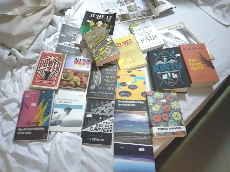 Read Books pile